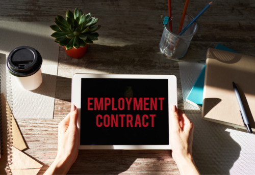 Fourie Stott Employment Contract
